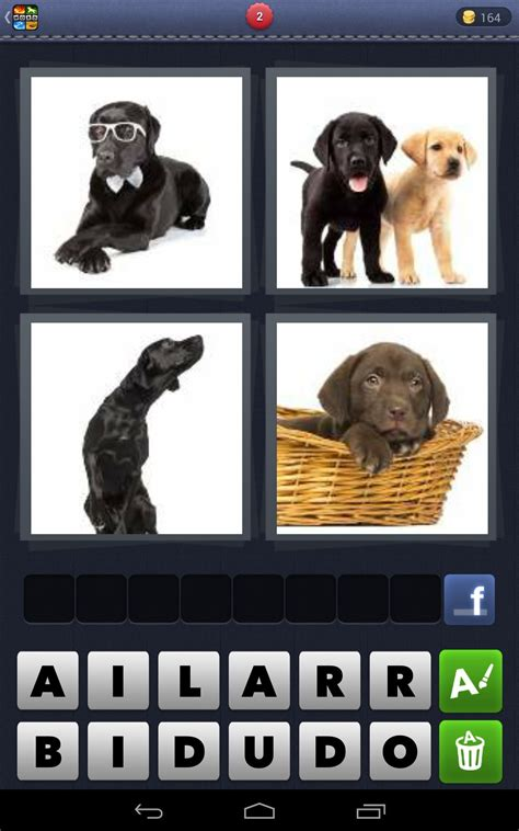 pics  word games  android