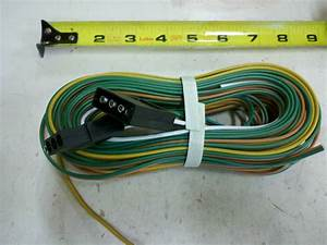 Trailer 25 U0026 39  Wiring Harness 4 Pole Conductor Wire With 4