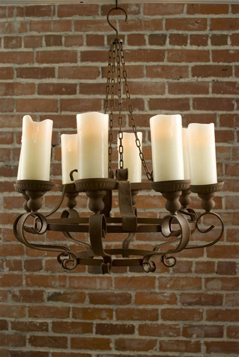 Battery Chandelier by Rustic Chandeliers With Battery Powered Led Candles No