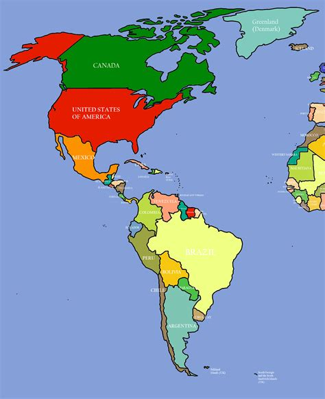 americas map estarteme