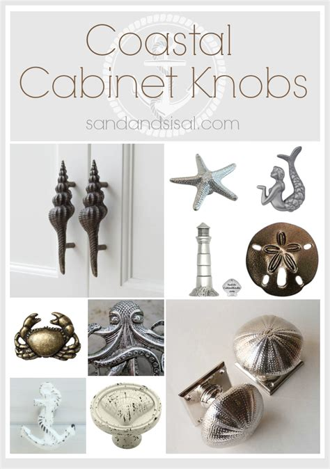 Seashell Cabinet Knobs And Pulls by Nautical Cabinet Knobs And Pulls Roselawnlutheran