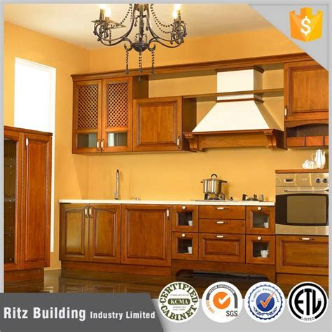Full Customized Portable Knock Down Kitchen Cabinets
