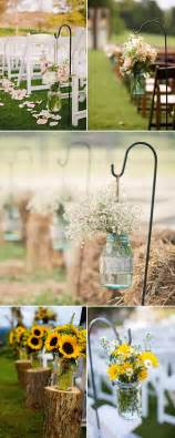 outdoor wedding aisle decor rustic wedding ideas 30 ways to use jars