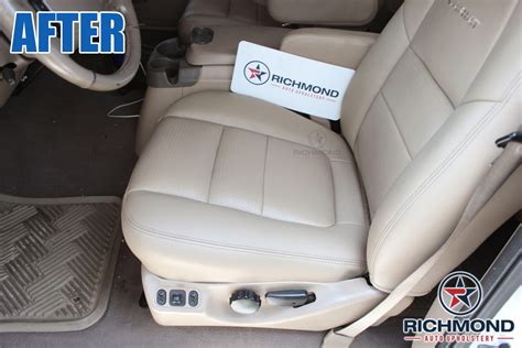 richmond auto upholstery 2001 ford f 250 lariat perforated leather seat cover