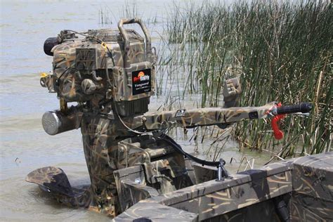 Duck Boat Outboard by I Want This Mud Buddy Shallow Water Mud Motors For Duck