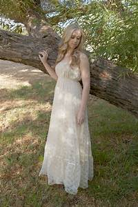 hippie wedding dresses dressed up girl With boho hippie wedding dress