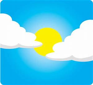 Best Partly Cloudy Clipart #10544 - Clipartion.com