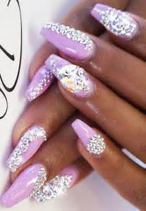 Stunning rhinestone nail art designs to try out fashionspick