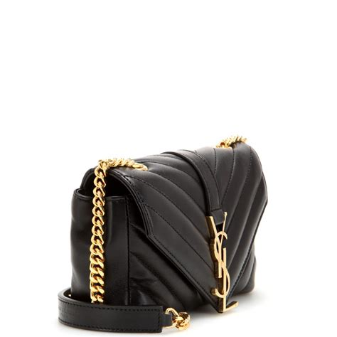 saint laurent classic monogramme quilted leather shoulder