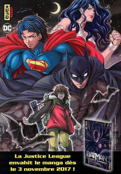manga batman  justice league tome  comics batman
