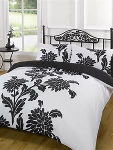 King Size Bettdecke : bettw scheset schwarz wei einzelbett doppelbett kingsize kingsize super king ebay ~ Indierocktalk.com Haus und Dekorationen
