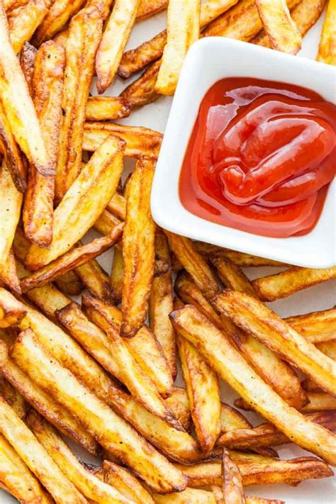 fries french fryer air homemade crispy making healthy recipe platedcravings recipes calories fry deep cravings plated airfryer frenchfries oil taste