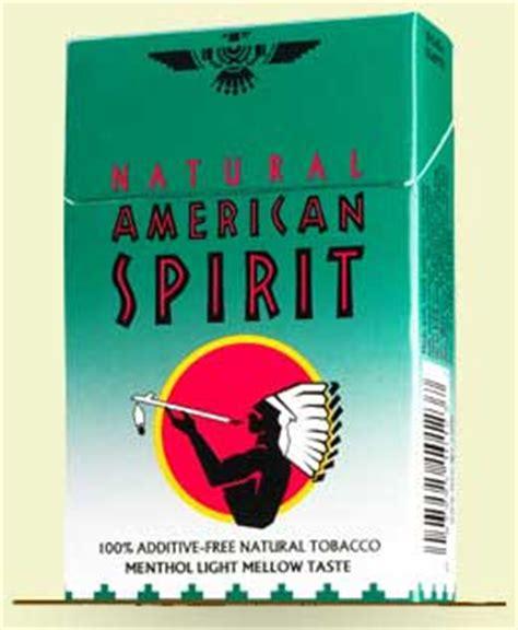 american spirit lights american spirit menthol light