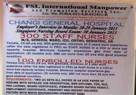 Nursing Jobs in Singapore 2013