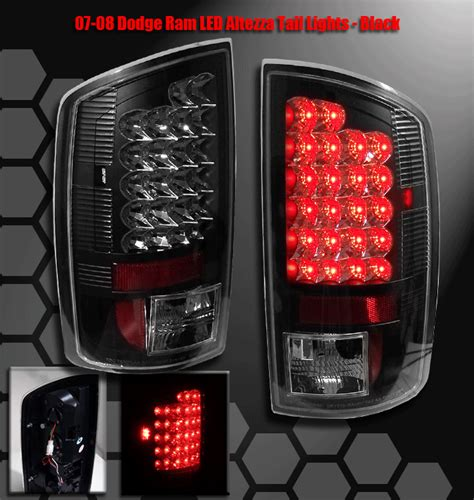 2007 dodge ram tail lights 2007 2008 dodge ram 1500 2006 2009 2500 3500 truck led