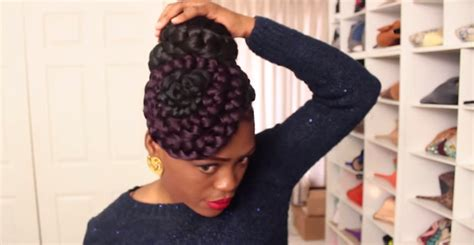 How To Make Quick And Gorgeous Braided Bun N Swirls Hair