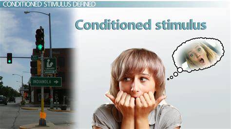 conditioned stimulus examples definition video