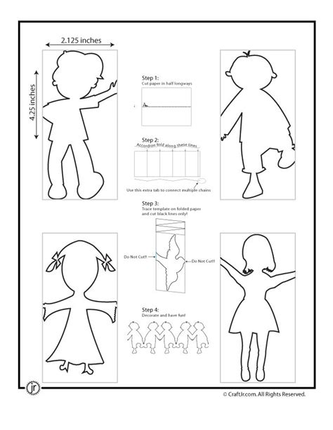 d d caign template best 25 paper doll chain ideas on snowflake cut out pattern cut out snowflakes and