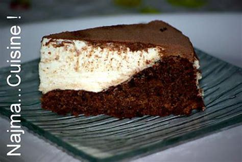 dessert fromage blanc chocolat recette de g 226 teau au chocolat et au fromage blanc