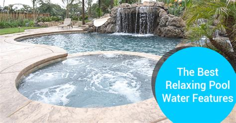 best swimming pool features 4 modern water feature ideas that set a relaxing mood ferrari pools