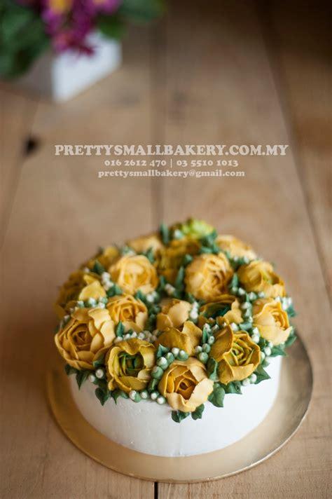 kek kahwin butter cream prettysmallbakery
