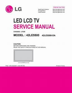 Manual De Servi U00e7o Tv Led Lcd Lg 42le5500 Chassis Lt03e By