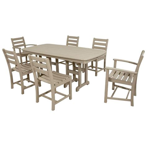 Plastic Patio Furniture by Trex Outdoor Furniture Monterey Bay Sand Castle 7