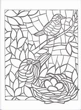 Mosaic Coloring Pages Animal Number Mosaics Christmas Getcolorings Printable Creative Haven Getdrawings Colorings Colori sketch template