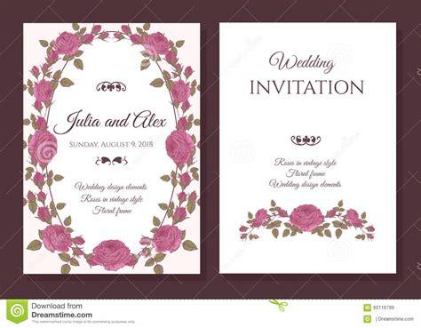 vector undangan pernikahan gratis cdr psd