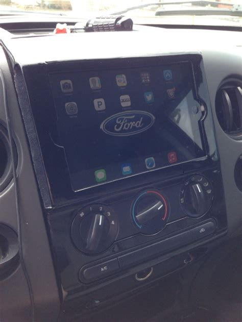 northeast ipad dash mount   ford  forum community  ford truck fans