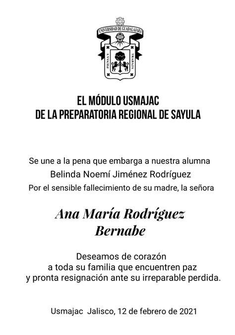 Modulo Usmajac Preparatoria Regional de Sayula - Posts ...