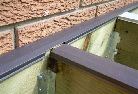 Deck Joist Cover by Installing Joist Cap Diy Deck Plans