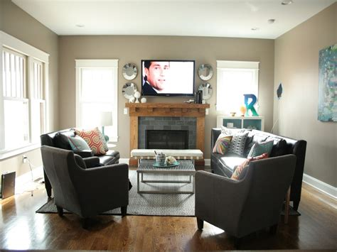 Modern Living Room Set Up