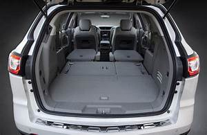 2017 Chevrolet Traverse Cargo Space The News Wheel
