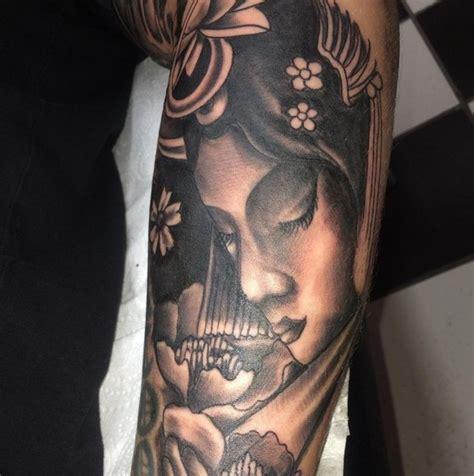 Tattoos Geisha  35 Inspirierende Fotos Und Sinn