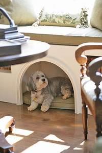 5 built in dog beds With dog den furniture