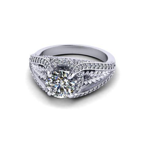 wedding ring leaf leaf engagement ring jewelry designs