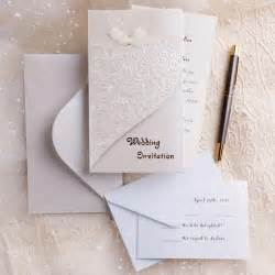 wedding invitations with pictures folded wedding invitations