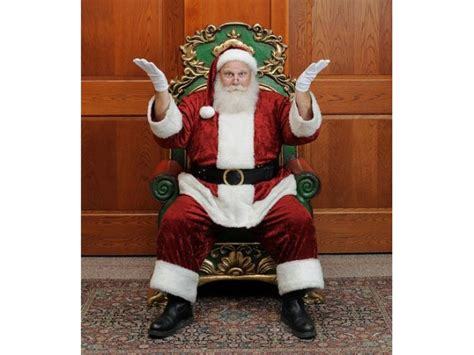 santa claus throne chair rentals austin san antonio texas