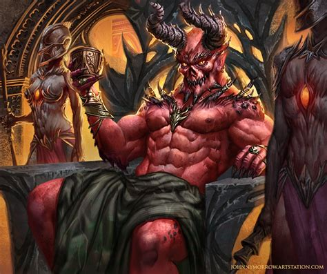 Epic Anime Demons By Johnnymorrow On Deviantart