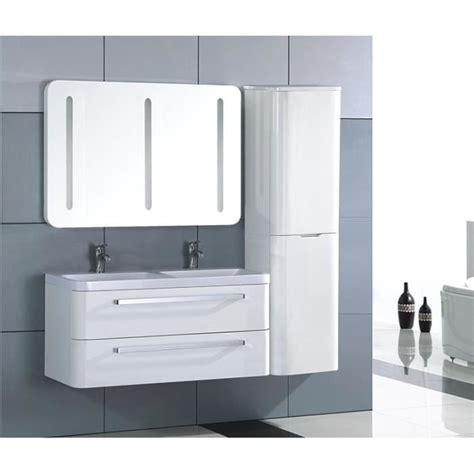 meuble salle de bain bois massif blanc laqu 233 achat