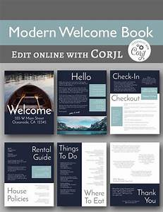 Modern Welcome Book