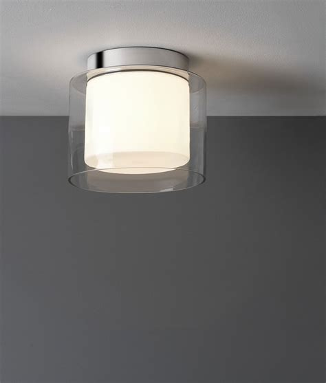 striking opal diffused ceiling light for bathrooms ip44