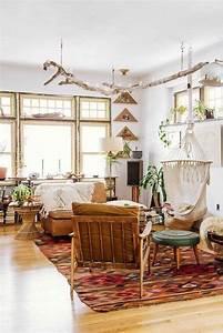Elegant, Bohemian, Style, Living, Room, Decoration, Ideas, 07