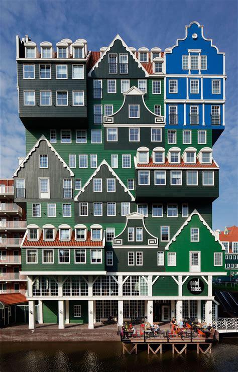 9 Photos of The Stacked Houses Amsterdam Zaandam Hotel ...