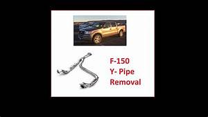 F-150 Y-pipe Exhaust Removal How To Remove Exhaust Ford F150  Sacar Escape