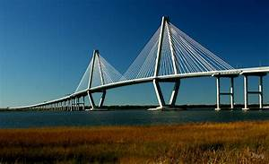 """Ravenel Bridge, Charleston, S C "" by Jhug Redbubble"
