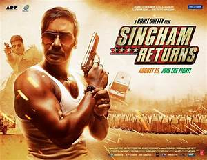 Singham Returns - All First Look Posters, Cast & Crew ...
