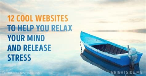 12 cool websites to help you relax your mind and release