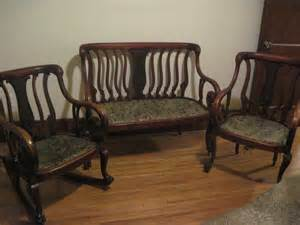 Settee Set by Settee Set My Antique Furniture Collection